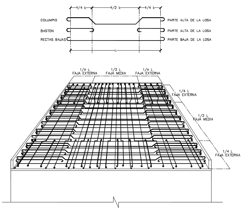 Steel Bar with all detailing drawing in this auto cad file.