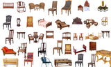 Photoshop PSD Chinese Furniture Blocks 2