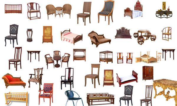 Photoshop Psd Chinese Furniture Blocks 2 Cad Design Free Cad