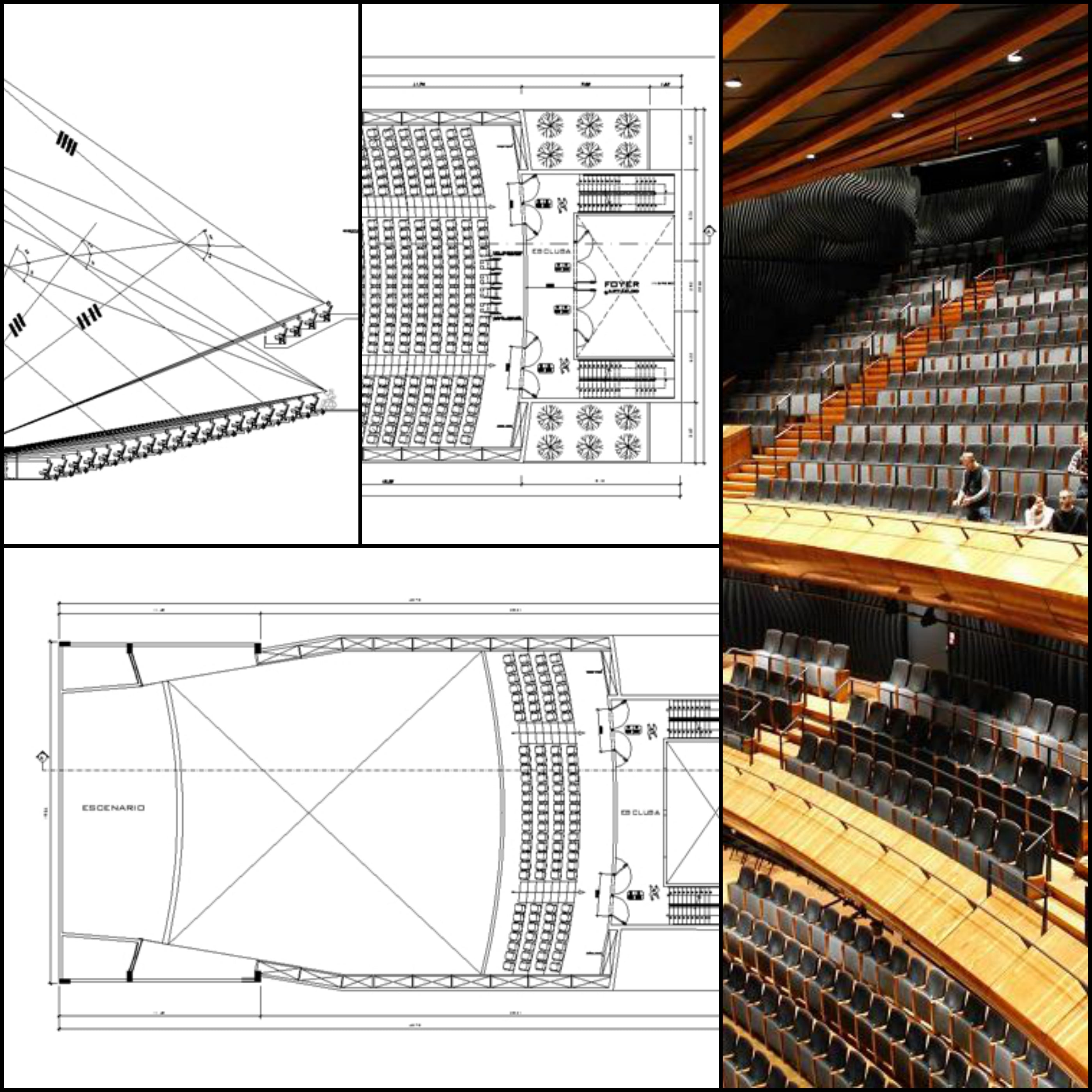 ★【Auditorium CAD Details V.2】@Auditorium Design,Autocad Blocks,AuditoriumDetails,Auditorium Section,Auditorium elevation design drawings