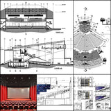 ★【Cinema, Theaters CAD Details Collection V.2】@Auditorium ,Cinema, Theaters Design,Autocad Blocks,Cinema, Theaters Details,Cinema, Theaters Section,elevation design drawings - CAD Design | Download CAD Drawings | AutoCAD Blocks | AutoCAD Symbols | CAD Drawings | Architecture Details│Landscape Details | See more about AutoCAD, Cad Drawing and Architecture Details