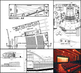 ★【Cinema, Theaters CAD Details Collection V.1】@Auditorium ,Cinema, Theaters Design,Autocad Blocks,Cinema, Theaters Details,Cinema, Theaters Section,elevation design drawings - CAD Design | Download CAD Drawings | AutoCAD Blocks | AutoCAD Symbols | CAD Drawings | Architecture Details│Landscape Details | See more about AutoCAD, Cad Drawing and Architecture Details
