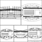 ★【Stadium,Gymnasium, Sports hall  Design Project V.1-CAD Drawings,CAD Details】@basketball court, tennis court, badminton court, long jump, high jump ,CAD Blocks,Autocad Blocks,Drawings,CAD Details - CAD Design | Download CAD Drawings | AutoCAD Blocks | AutoCAD Symbols | CAD Drawings | Architecture Details│Landscape Details | See more about AutoCAD, Cad Drawing and Architecture Details