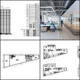 ★【Office, Commercial building, mixed business building CAD Design Project V.7】@Autocad Blocks,Drawings,CAD Details,Elevation - CAD Design | Download CAD Drawings | AutoCAD Blocks | AutoCAD Symbols | CAD Drawings | Architecture Details│Landscape Details | See more about AutoCAD, Cad Drawing and Architecture Details
