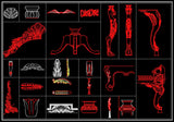 Over 1000+ Architecture Ornamental Elements(Best Collections!!)