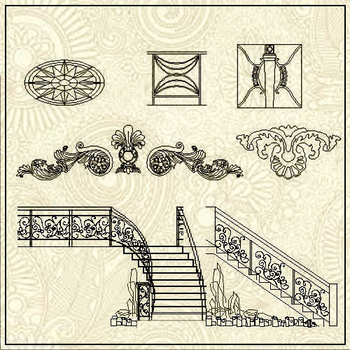 Free Stair Blocks Download - CAD Design | Download CAD Drawings | AutoCAD Blocks | AutoCAD Symbols | CAD Drawings | Architecture Details│Landscape Details | See more about AutoCAD, Cad Drawing and Architecture Details