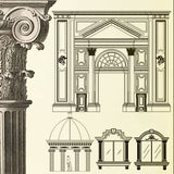 Ornamental Parts of Buildings 1 - CAD Design | Download CAD Drawings | AutoCAD Blocks | AutoCAD Symbols | CAD Drawings | Architecture Details│Landscape Details | See more about AutoCAD, Cad Drawing and Architecture Details