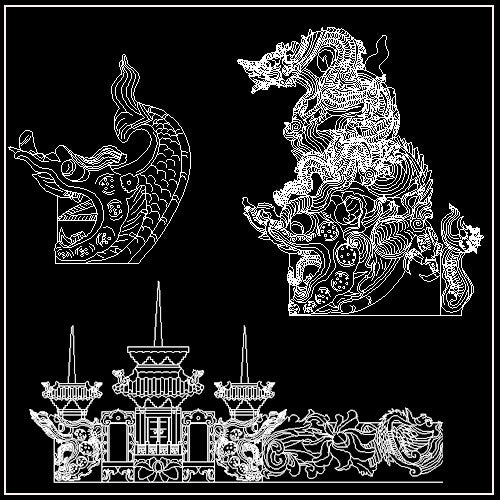 Free Chinese Decorative Elements V6