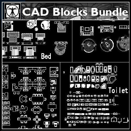 Cad Blocks Set - CAD Design | Download CAD Drawings | AutoCAD Blocks | AutoCAD Symbols | CAD Drawings | Architecture Details│Landscape Details | See more about AutoCAD, Cad Drawing and Architecture Details