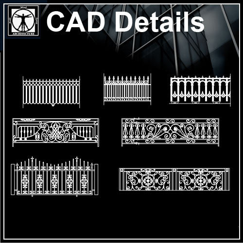 Forged Products - CAD Design | Download CAD Drawings | AutoCAD Blocks | AutoCAD Symbols | CAD Drawings | Architecture Details│Landscape Details | See more about AutoCAD, Cad Drawing and Architecture Details