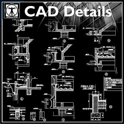 Architecture Details Collection Cad Design Free Cad