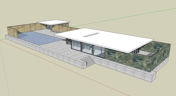 ... 17 Projects Of Mies Van Der Rohe Architecture Sketchup 3D Models   CAD  Design | Download ...