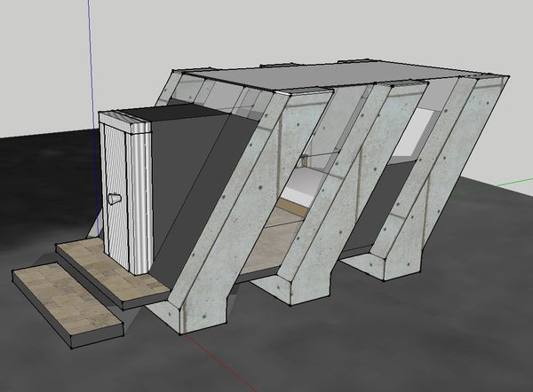 17 Projects of Mies Van Der Rohe Architecture Sketchup 3D Models