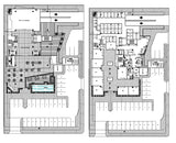 ★【Office, Commercial building, mixed business building CAD Design Project V.2】@Autocad Blocks,Drawings,CAD Details,Elevation - CAD Design | Download CAD Drawings | AutoCAD Blocks | AutoCAD Symbols | CAD Drawings | Architecture Details│Landscape Details | See more about AutoCAD, Cad Drawing and Architecture Details