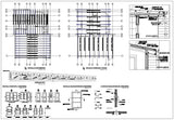 ★【Office, Commercial building, mixed business building CAD Design Project V.12】@Autocad Blocks,Drawings,CAD Details,Elevation