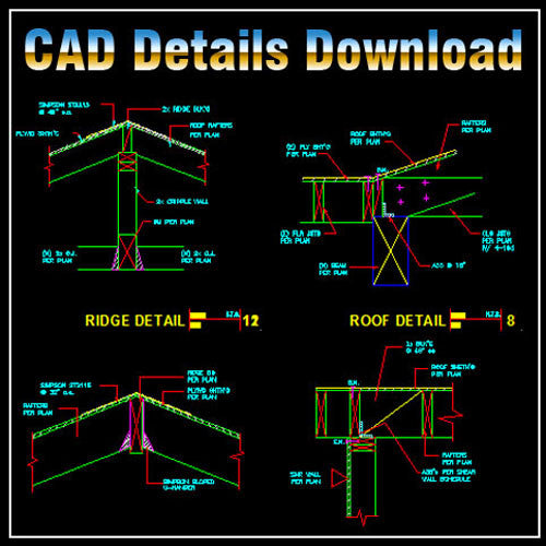 Construction Details 2 - CAD Design | Download CAD Drawings | AutoCAD Blocks | AutoCAD Symbols | CAD Drawings | Architecture Details│Landscape Details | See more about AutoCAD, Cad Drawing and Architecture Details