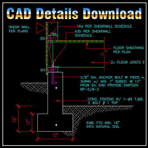 Construction Details 1 - CAD Design | Download CAD Drawings | AutoCAD Blocks | AutoCAD Symbols | CAD Drawings | Architecture Details│Landscape Details | See more about AutoCAD, Cad Drawing and Architecture Details