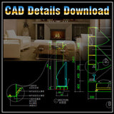 Interior Design Details - CAD Design | Download CAD Drawings | AutoCAD Blocks | AutoCAD Symbols | CAD Drawings | Architecture Details│Landscape Details | See more about AutoCAD, Cad Drawing and Architecture Details