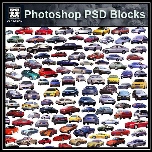 Photoshop PSD Car Blocks 2