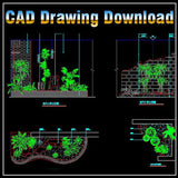 Landscape Design - CAD Design | Download CAD Drawings | AutoCAD Blocks | AutoCAD Symbols | CAD Drawings | Architecture Details│Landscape Details | See more about AutoCAD, Cad Drawing and Architecture Details