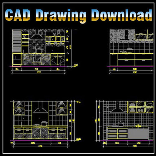 Kitchen Design Template - CAD Design | Download CAD Drawings | AutoCAD Blocks | AutoCAD Symbols | CAD Drawings | Architecture Details│Landscape Details | See more about AutoCAD, Cad Drawing and Architecture Details