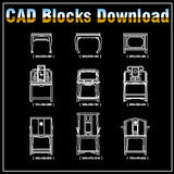 Free Chinese Furniture Blocks - CAD Design | Download CAD Drawings | AutoCAD Blocks | AutoCAD Symbols | CAD Drawings | Architecture Details│Landscape Details | See more about AutoCAD, Cad Drawing and Architecture Details