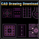 Ceiling Design Template - CAD Design | Download CAD Drawings | AutoCAD Blocks | AutoCAD Symbols | CAD Drawings | Architecture Details│Landscape Details | See more about AutoCAD, Cad Drawing and Architecture Details