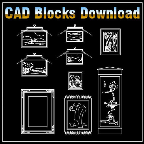 Free Painting Blocks Download - CAD Design | Free CAD blocks and drawings