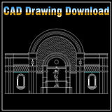 Architecture Decoration Drawing 2 - CAD Design | Free CAD blocks and drawings