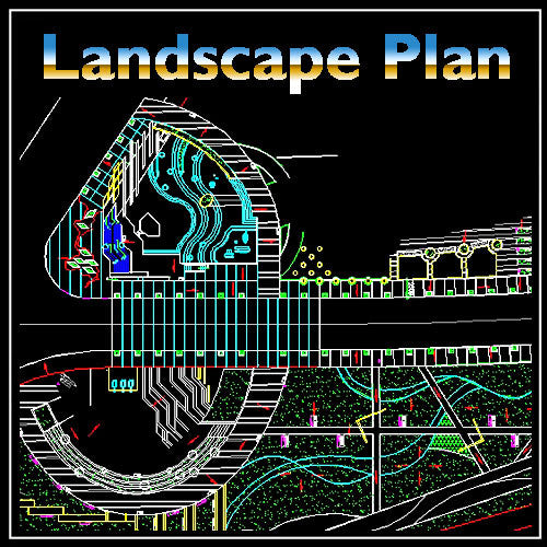 Residential Landscape Design 11 - CAD Design | Download CAD Drawings | AutoCAD Blocks | AutoCAD Symbols | CAD Drawings | Architecture Details│Landscape Details | See more about AutoCAD, Cad Drawing and Architecture Details