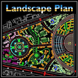 Residential Landscape Design 16 - CAD Design | Download CAD Drawings | AutoCAD Blocks | AutoCAD Symbols | CAD Drawings | Architecture Details│Landscape Details | See more about AutoCAD, Cad Drawing and Architecture Details