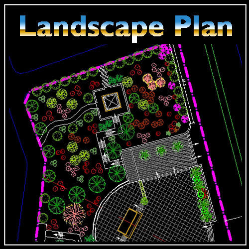 Free Square Design - CAD Design | Download CAD Drawings | AutoCAD Blocks | AutoCAD Symbols | CAD Drawings | Architecture Details│Landscape Details | See more about AutoCAD, Cad Drawing and Architecture Details