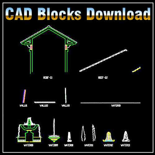 Free Landscape Blocks - CAD Design | Download CAD Drawings | AutoCAD Blocks | AutoCAD Symbols | CAD Drawings | Architecture Details│Landscape Details | See more about AutoCAD, Cad Drawing and Architecture Details