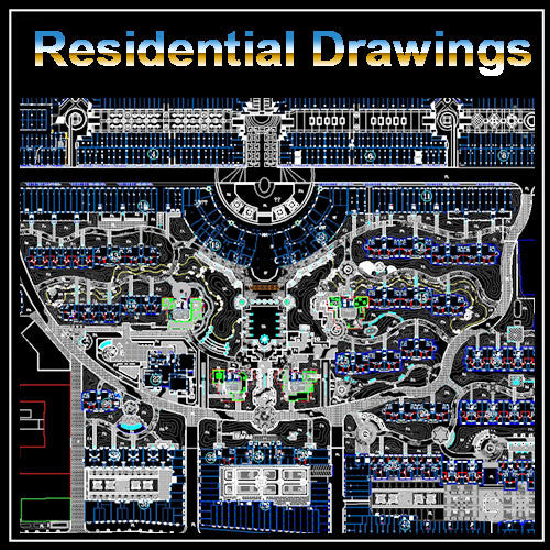 Whole Community Planning Drawings - CAD Design | Download CAD Drawings | AutoCAD Blocks | AutoCAD Symbols | CAD Drawings | Architecture Details│Landscape Details | See more about AutoCAD, Cad Drawing and Architecture Details