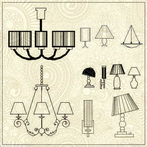 Free Lamp Blocks Download - CAD Design | Download CAD Drawings | AutoCAD Blocks | AutoCAD Symbols | CAD Drawings | Architecture Details│Landscape Details | See more about AutoCAD, Cad Drawing and Architecture Details