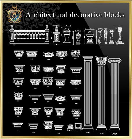 Royal Architecture Design Blocks