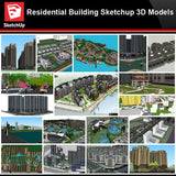 💎【Sketchup Architecture 3D Projects】Residential Building Landscape Sketchup Model V8 - CAD Design | Download CAD Drawings | AutoCAD Blocks | AutoCAD Symbols | CAD Drawings | Architecture Details│Landscape Details | See more about AutoCAD, Cad Drawing and Architecture Details