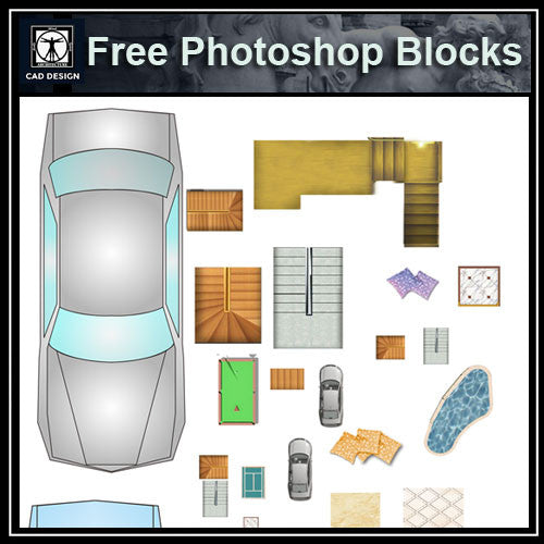 Free Photoshop PSD Landscape Blocks - CAD Design | Download CAD Drawings | AutoCAD Blocks | AutoCAD Symbols | CAD Drawings | Architecture Details│Landscape Details | See more about AutoCAD, Cad Drawing and Architecture Details