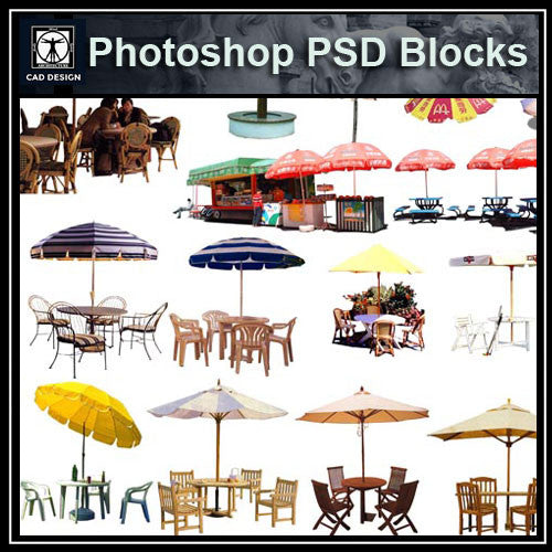 Photoshop PSD Landscape Decorative Elements 1