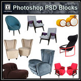 Photoshop PSD Sofa and Chair Blocks V1 - CAD Design | Download CAD Drawings | AutoCAD Blocks | AutoCAD Symbols | CAD Drawings | Architecture Details│Landscape Details | See more about AutoCAD, Cad Drawing and Architecture Details