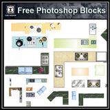 Free Photoshop PSD Kitchen Blocks - CAD Design | Download CAD Drawings | AutoCAD Blocks | AutoCAD Symbols | CAD Drawings | Architecture Details│Landscape Details | See more about AutoCAD, Cad Drawing and Architecture Details