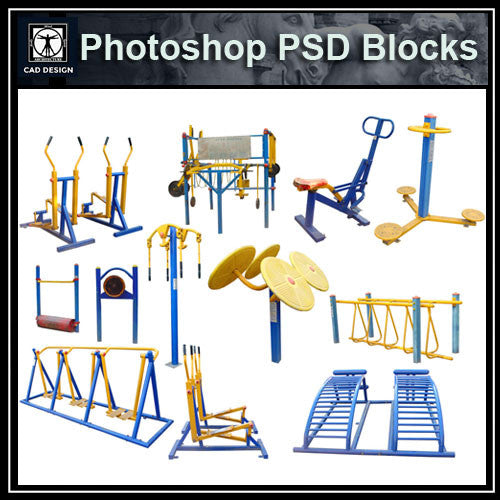 Photoshop PSD Children's Play Equipment 2