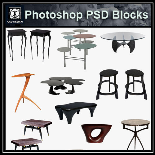 Photoshop PSD Sofa and Chair Blocks V4