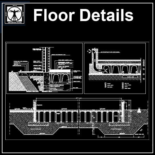 Free Floor Details 2 - CAD Design | Download CAD Drawings | AutoCAD Blocks | AutoCAD Symbols | CAD Drawings | Architecture Details│Landscape Details | See more about AutoCAD, Cad Drawing and Architecture Details