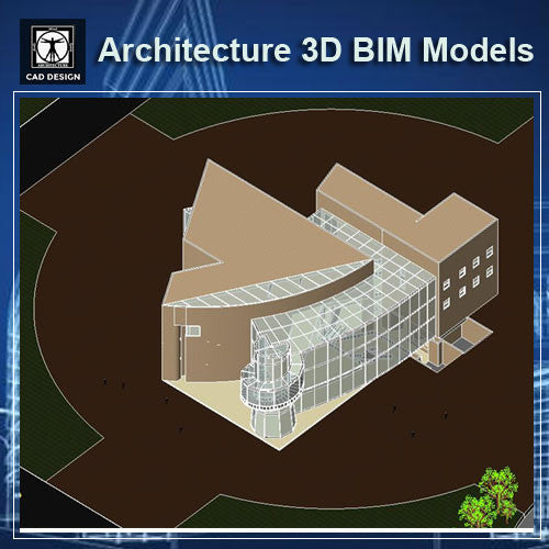 Museum Design- BIM 3D Models - CAD Design | Download CAD Drawings | AutoCAD Blocks | AutoCAD Symbols | CAD Drawings | Architecture Details│Landscape Details | See more about AutoCAD, Cad Drawing and Architecture Details