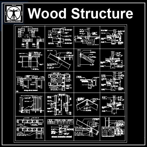 Free Wood Structure Details 2