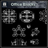 Free Office blocks and plans