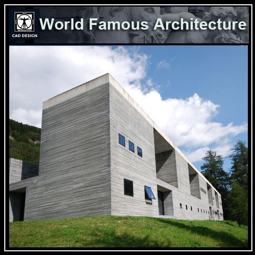 The Therme Vals - Peter Zumthor - CAD Design | Download CAD Drawings | AutoCAD Blocks | AutoCAD Symbols | CAD Drawings | Architecture Details│Landscape Details | See more about AutoCAD, Cad Drawing and Architecture Details