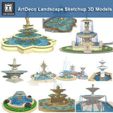 European Fountain Landscape-Sketchup 3D Models(Best Recommanded!!) - CAD Design | Download CAD Drawings | AutoCAD Blocks | AutoCAD Symbols | CAD Drawings | Architecture Details│Landscape Details | See more about AutoCAD, Cad Drawing and Architecture Details
