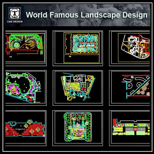 World Famous Landscape Design